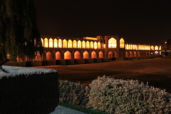Esfahan - Khajoo Bridge (Milad Ziabari) Tags: night esfahan   khajoobridge