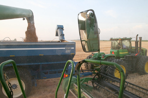 A view from the hot seat. What it looks like to dump on the go.