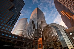 World Financial Center (absolutwade) Tags: nyc newyork building manhattan july getty absolutwade 2009 batteryparkcity worldfinancialcenter bpc canoneos30d beauwade