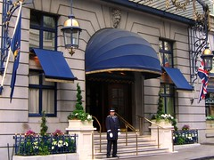 The Doorman at the Ritz in London (UGArdener) Tags: england london english unitedkingdom britain ritz bankholiday fullenglishbreakfast doorman bankholidaymonday englishtravel