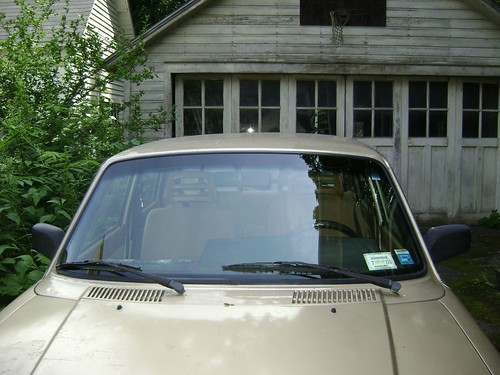 Shiny new windshield