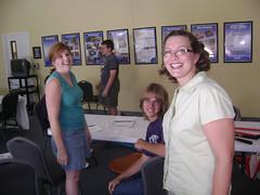 CIP staff volunteers