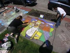Simpsons in Tecno Color!