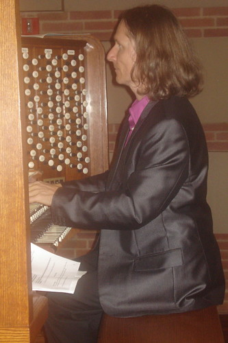 Christoph Bull, Royce Hall organist