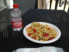 7/26 、会場でお昼を食べる。