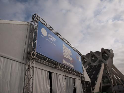 Campus Party 2009 - Lunes