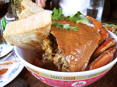 chili crab @ fatty crab