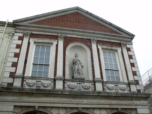 The Guild Hall - Windsor - featuring statue of Queen Anne