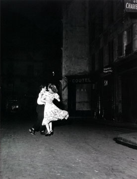 Last Waltz on Bastille Day by Robert Doisneau