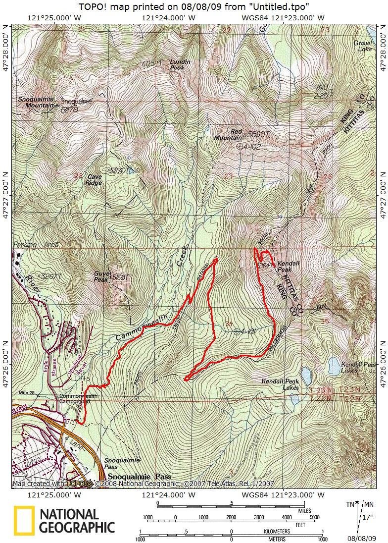 Kendall Peak Climbing Hiking Mountaineering SummitPost