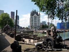 "Rotterdam - ""Oudehaven"" (dietmut) Tags: city rotterdam carriage transport nederland thenetherlands places 2009 niederlande zuidholland vervoer oudehaven wittehuis augustusaugust dietmut"