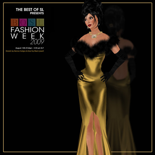 BOSL Fashion Week teasers - Azul