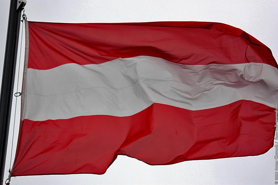 флаг австрии фото