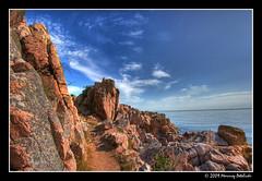 Way to nowhere (Mariusz Petelicki) Tags: rocks balticsea hdr bornholm 3xp mariuszpetelicki