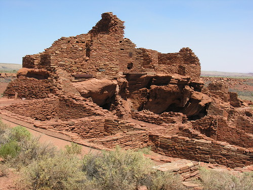 Wupatki Pueblo - part of the 100-room ancient community