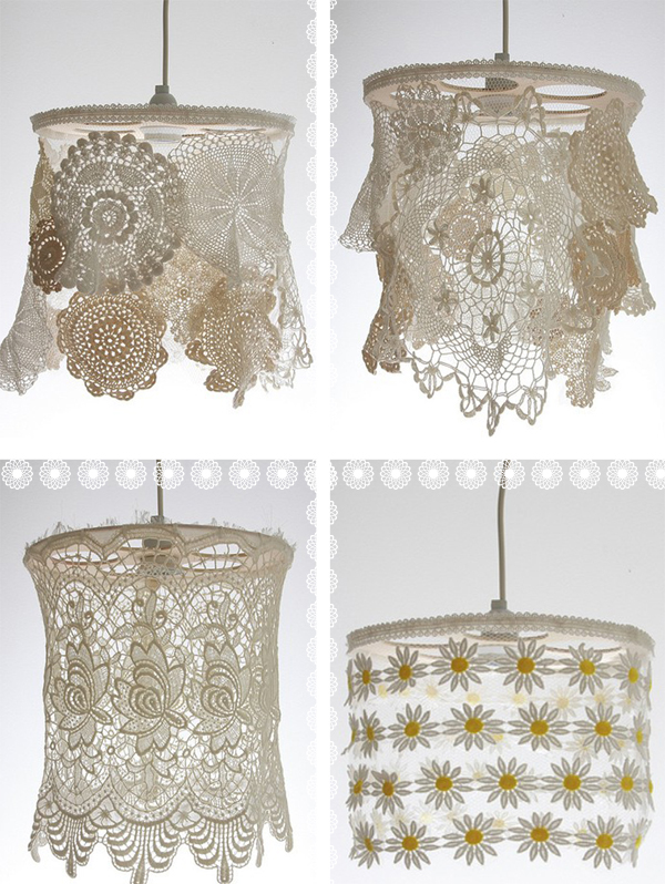 Tuesday Tute ~ Doily Light Shades
