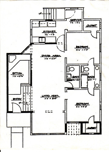 CALIFORNIA BUNGALOW HOME PLANS