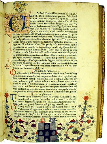 Various decorations in Valerius Maximus: Factorum et dictorum memorabilium libri IX
