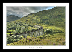 Glenfinnan Viaduct (Kit Downey) Tags: landscape scotland september movieset iconic hdr glenfinnan railbridge lochaber jacobite hogwartsexpress glenfinnanviaduct scottishlandscape harrypotterbridge kitdowney