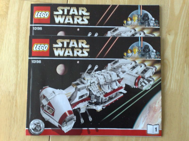 lego tantive iv instructions