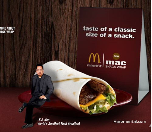 Mac Snack Wrap