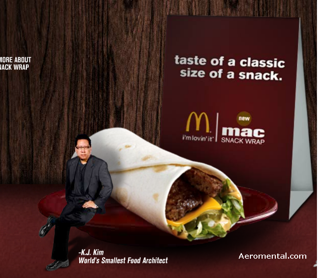 Thumb El Mac Snak Wrap de McDonald's parece un Big Mac Burrito