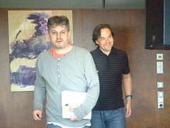 Robert Renk und Juri Andruchowytsch