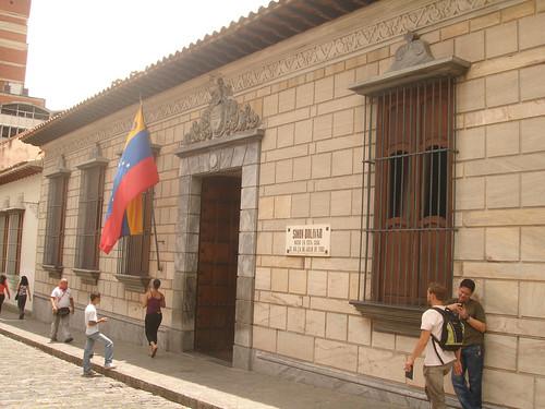 Casa onde nasceu Simón Bolívar