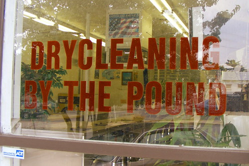 Drycleaning By The Pound