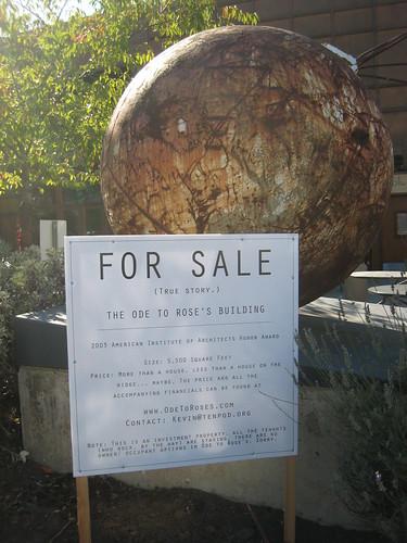 "Unique ""For Sale"" Sign II"
