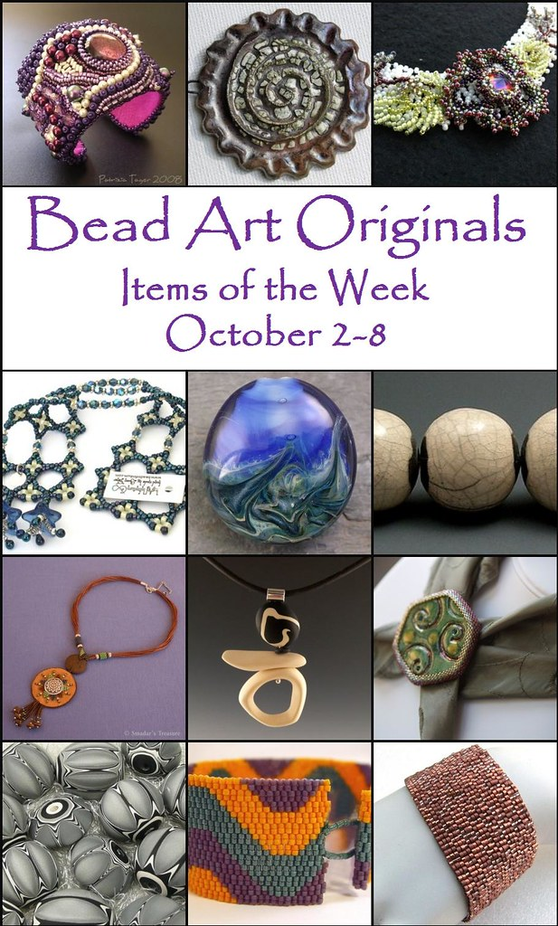 Bead Art Originals Items of the Week - October 2-8