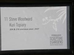 2008-01-27-Stoneleigh-2007-11-01-Kuri Topiary (russellstreet) Tags: newzealand sculpture auckland nzl manukau aucklandbotanicalgardens stevewoodward sculpturesinthegarden2007 stoneleighsculpturesinthegarden2007 kuritopiary