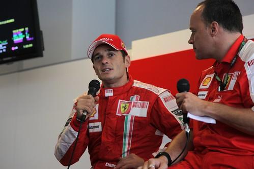 Giancarlo Fisichella Ferrari Formula 1 Suzuka 2009