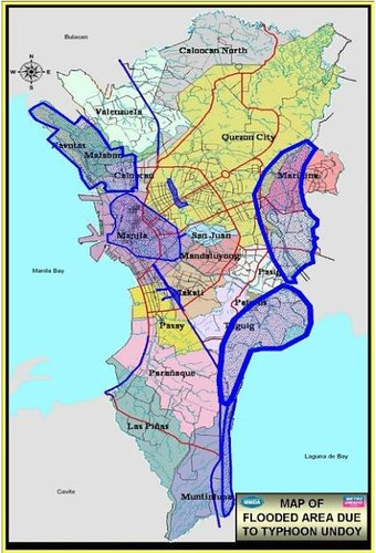 Ondoy/Pepeng Flood Map