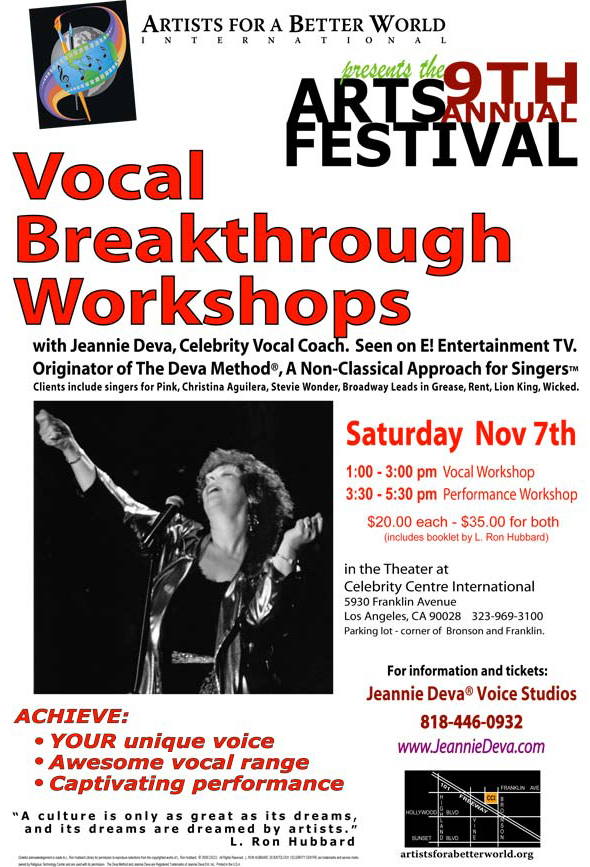 Vocal Breakthrough Workshop