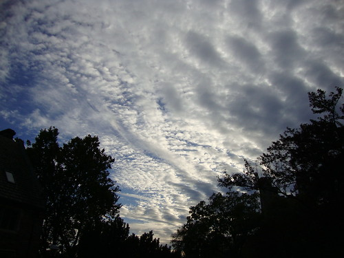 Sky over Princeton  B10/8/09