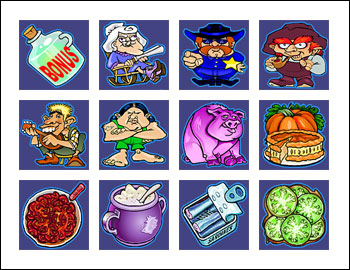 free Moonshine slot game symbols