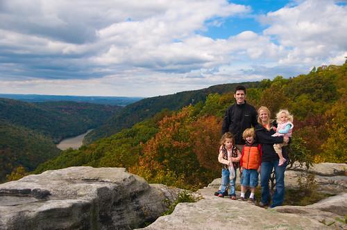 Family at Raven Rock