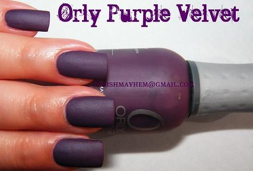Orly Purple Velvet