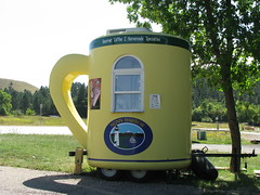 Mobile Coffee Shop near Spearfish, SD (Arthur Chapman) Tags: usa coffee southdakota coffeecup unitedstatesofamerica expresso spearfish geo:country=unitedstatesofamerica mobilecoffeeshop geocode:method=googleearth geocode:accuracy=500meters nunnharbor