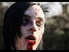 Portrait of a zombie (Kaj Bjurman) Tags: portrait eos blood eyes sweden stockholm zombie 5d sverige 2009 kaj mkii markii cs4 photomatix zombiewalk bjurman
