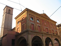 Chiesa di Santa Maria Maggiore (kpmst7) Tags: 2009 europe eurasia italy italia bologna romagna emiliaromagna tower church westerneurope southerneurope catholic belltower