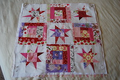 Doll Quilt Basted