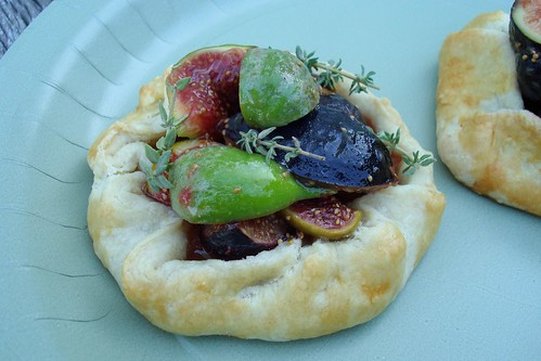 Honeyed Fig Crostadas