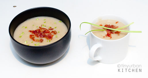 Celeriac Soup for Two