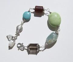 HPIM0134 (blacklovelythang) Tags: coral crystal handmade aquamarine jewelry bracelet pearl quartz calcite citrine torquoise carnelian smokeyquartz sterlingsilver balisilver carvedagate greenappleturquoise lavendarquartz