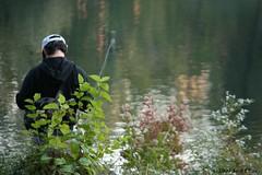 """Pescador Solitario"" (D' La Crux Photography) Tags: newyorkcity centralpark"