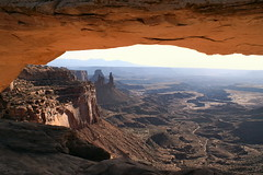Mesa Arch Canyonlands N.P. (dichellis) Tags: utah nationalpark arch canyonlands redrock nationalparks mesaarch islandinthesky washerwomanarch onearthnrdc