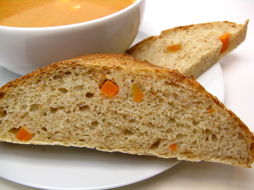 Olive Oil, Pepper & Sweet Potato Bread