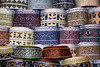 Feztastic, Oman (sminky_pinky100 (In and Out)) Tags: travel tourism pretty pattern market decorative traditional uae hats fez souk colourful oman haggle omot